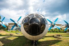 Antonov An 12 plane stock images