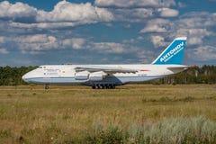 Antonov AN-124 Ruslan Fotografia Stock Libera da Diritti