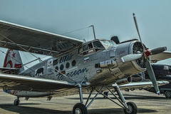 Antonov 2 ryssbiplan Arkivbild