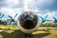 Antonov 12 samolot obrazy stock