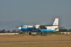 Antonov An-24 Royalty Free Stock Photos