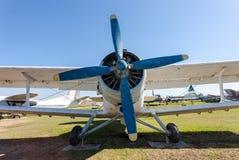 Antonov An-2 a Soviet mass-produced single-engine biplane Stock Photos