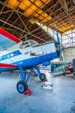Antonov An-2 sur l'affichage Images stock