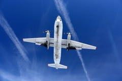Antonov An-30 87 SVART av ryssflygvapenlandning på den Kubinka flygvapengrunden Fotografering för Bildbyråer