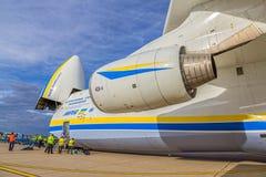 Antonow 225 Mriya Stockfoto