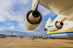 Antonow 225 Mriya Stockbilder