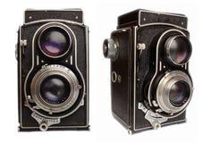 antoque照相机 图库摄影
