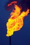 Antorcha del aceite Imagenes de archivo