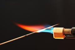 Antorcha del gas Imagen de archivo libre de regalías