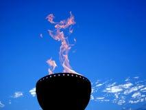 Antorcha del gas Foto de archivo