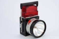 Antorcha eléctrica retra foto de archivo libre de regalías