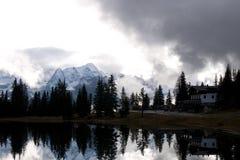 Antorno湖 库存图片