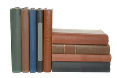 Antqiue Books Stock Image