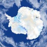 Antractic στο πλανήτη Γη Στοκ εικόνα με δικαίωμα ελεύθερης χρήσης
