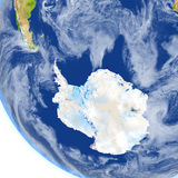 Antractic στο πλανήτη Γη Στοκ φωτογραφία με δικαίωμα ελεύθερης χρήσης