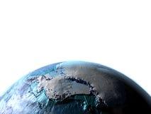 Antractic στο πλανήτη Γη Στοκ εικόνες με δικαίωμα ελεύθερης χρήσης