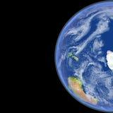 Antractic de l'espace Image libre de droits