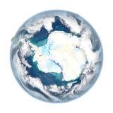 Antractic sur la terre détaillée de planète Photos libres de droits