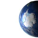 Antractic sur terre de planète Image libre de droits