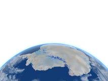 Antractic sur terre de planète Images stock