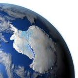 Antractic sur terre de planète Illustration de Vecteur