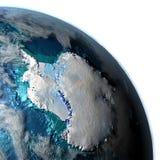 Antractic sur terre de planète Photos libres de droits