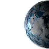 Antractic sur terre de planète Image stock