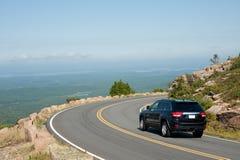 Antreiben des Cadillac-Berges Stockfoto