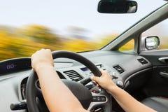 Antreiben einer Car Lizenzfreie Stockbilder