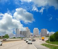 Antreiben entlang das zwischenstaatliche nach Cincinnati Ohio Lizenzfreie Stockfotos