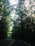 Antrieb Marylands Jericho Park durch lizenzfreie stockfotografie