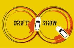 Antrieb-Show-Bild stock abbildung