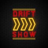 Antrieb-Show-Laufen lizenzfreie abbildung