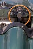Antriebsrad von alten Aston Martin Lizenzfreie Stockfotos