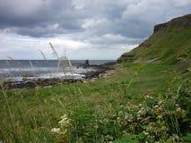 Antrim ακτή, Βόρεια Ιρλανδία Στοκ εικόνα με δικαίωμα ελεύθερης χρήσης