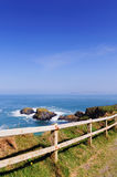 Antrim coast stock image
