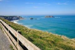 Antrim coast. Northern coast of County Antrim, Northern Ireland royalty free stock photography