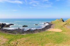 Antrim coast. Northern coast of County Antrim, Northern Ireland royalty free stock images