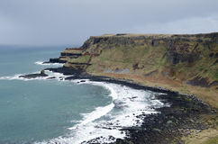 The Antrim Coast, Northern Ireland. The antrim coast of Northern Ireland royalty free stock photography