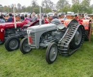 ANTRIM, IRLANDA NORTE, reunião do motor de tração do vintage 06-05-2013 Fotografia de Stock