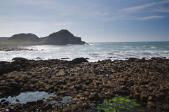 Antrim-Küste stockfotografie