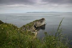 Antrim Kninbane επικεφαλής βόρεια Ιρλανδία ακτών Στοκ Εικόνες