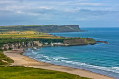 antrim kust nordliga ireland Royaltyfri Fotografi