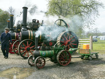 ANTRIM, NORTH IRELAND, 06-05-2013 Vintage traction engine rally Stock Images