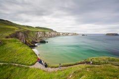 Antrim som är nordlig - Irland Arkivfoton