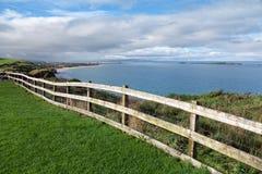 Antrim wybrzeża sceneria, Północna - Ireland Obraz Stock