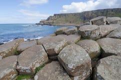 Antrim wybrzeże, Północny - Ireland Obraz Stock