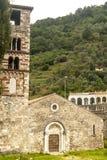 Antrodoco, μεσαιωνική εκκλησία στο Romanesque ύφος Στοκ εικόνες με δικαίωμα ελεύθερης χρήσης