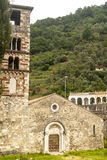 Antrodoco, medieval church in Romanesque style Royalty Free Stock Images