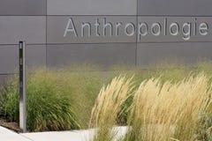 Antropologiuniversitet av Mainz Royaltyfri Fotografi